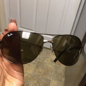e4d77409c9 Ray-Ban Accessories - Ray-Ban Aviators Rb3393 Sunglasses 014 73 64•